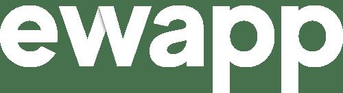 logo ewapp blanco