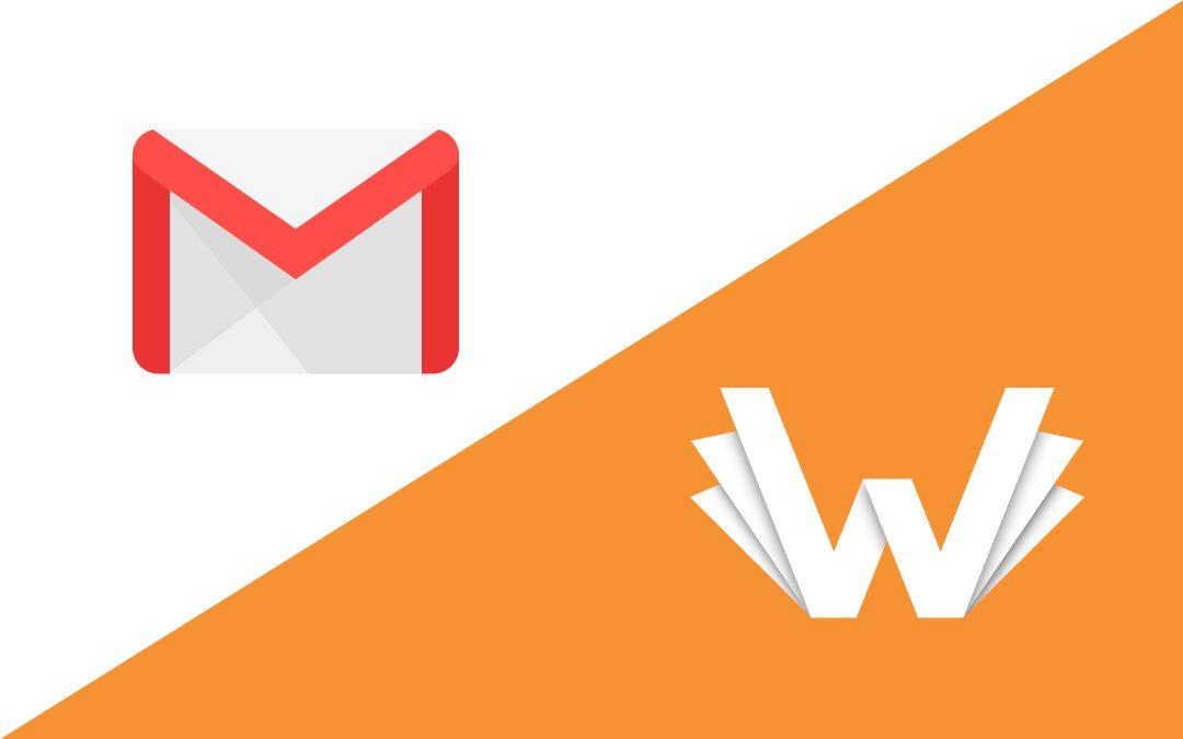 Configuración en Gmail